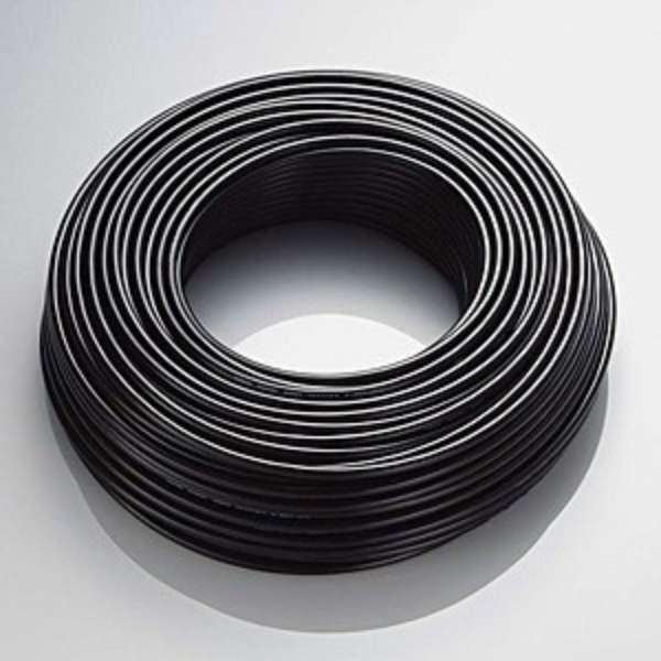 カテゴリー5e  屋外用LANケーブル[ケーブルのみ(コネクタなし)] (ブラック・100m) LD-VAPFR/BK100