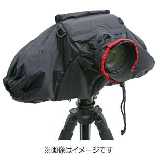 カメラレインカバー(ブラック)