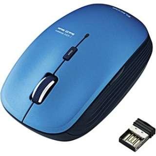 M-BL21DBBU マウス ブルー  [BlueLED /5ボタン /USB /無線(ワイヤレス)]