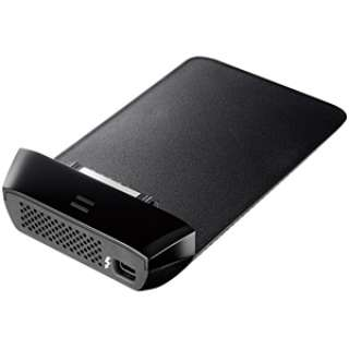 ポータブルHDD用アダプター [Thunderbolt] HDUS-TBシリーズ(ブラック) ADUS-TB