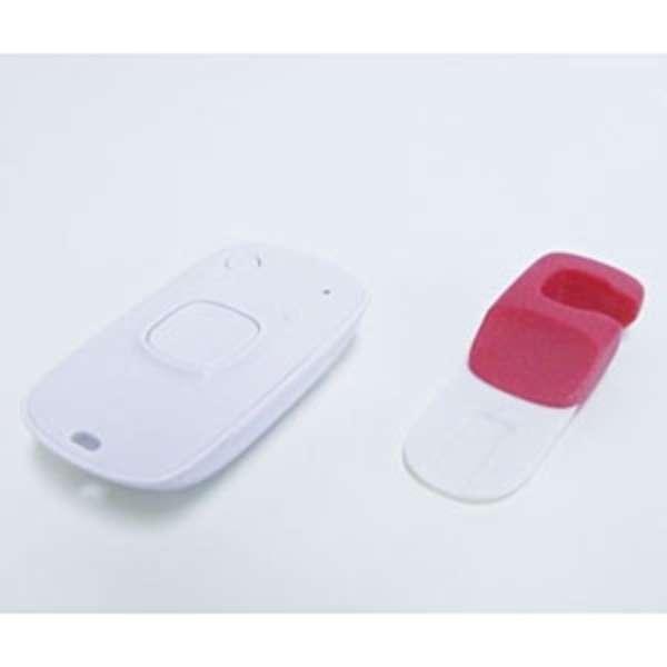 iPhone/iPad/iPod touch対応 「Snap remote」スタンド付カメラリモコン (ショッキングピンク) M335SPK