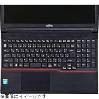 ノート用キーボードカバー (富士通 LIFEBOOK Aシリーズ・Eシリーズ(テンキー付き)対応) FA-NLIFEAE1W