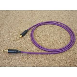 ヘッドホン用ケーブル SCVHP-MM (ステレオミニプラグ→ステレオミニプラグ・1.2m/バイオレット) BSPHPCLSCVHPMM