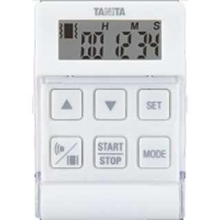 バイブレーションタイマー24時間計 クイック TD-370N-WH ホワイト