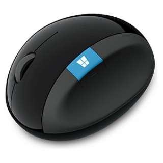 L6V-00008 マウス Sculpt Ergonomic Mouse ブラック  [BlueLED /4ボタン /USB /無線(ワイヤレス)]
