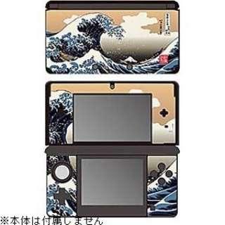 彩装飾シート 津波<北斎>【3DS】