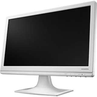 18.5型ワイド LEDバックライト搭載液晶モニター (ホワイト) LCD-AD193EW