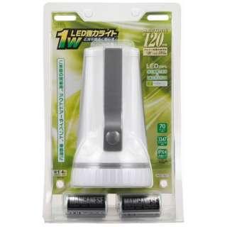 LED-P01W 懐中電灯 [LED /単1乾電池×4 /防水]