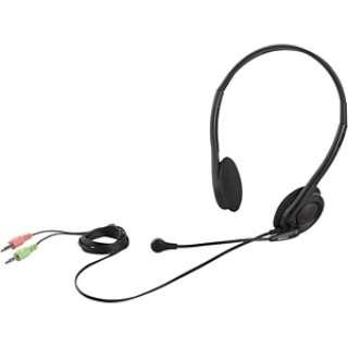 BSHSH14BK ヘッドセット ブラック[φ3.5mmミニプラグ /両耳 /ヘッドバンドタイプ]
