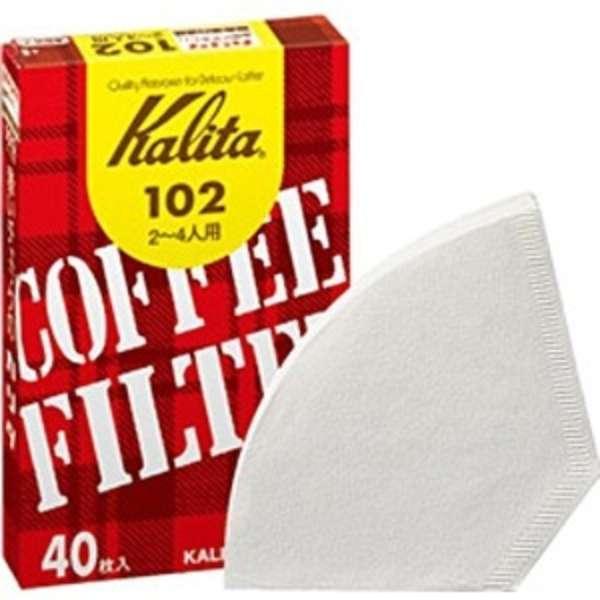 コーヒーフィルター 102 濾紙 ホワイト 40枚入