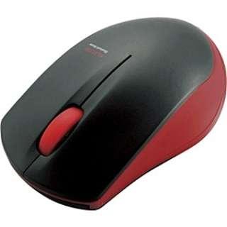 M-BT12BRRD マウス レッド  [IR LED /3ボタン /Bluetooth /無線(ワイヤレス)]