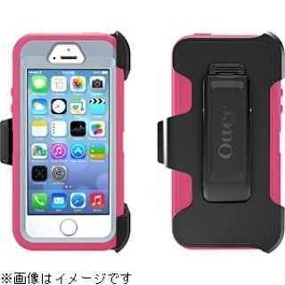 iPhone 5s/5用 Defender ベーシックシリーズ (パウダーグレー/ブレイズピンク) OTB-PH-000080