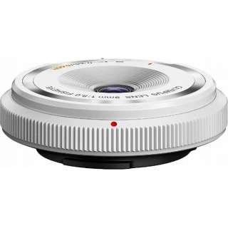 カメラレンズ フィッシュアイボディーキャップレンズ ホワイト BCL-0980 [マイクロフォーサーズ /単焦点レンズ]