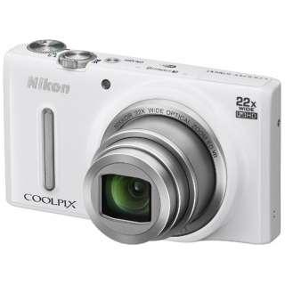 S9600 コンパクトデジタルカメラ COOLPIX(クールピクス) エレガントホワイト