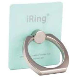 〔スマホリング〕 iRing アイリング (ミントグリーン) UMS-IR01MI