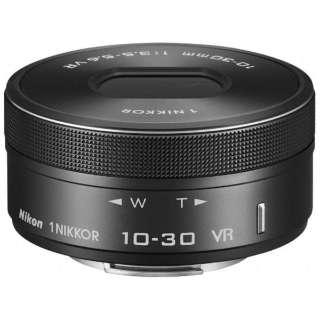 カメラレンズ 1 NIKKOR VR 10-30mm f/3.5-5.6 PD-ZOOM NIKKOR(ニッコール) ブラック [ニコン 1 /ズームレンズ]