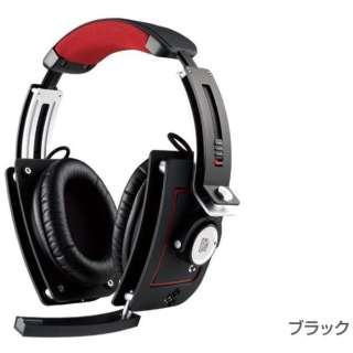 HT-LTM010ECBL ゲーミングヘッドセット Level 10 M Diamond Black [φ3.5mmミニプラグ /両耳 /ヘッドバンドタイプ]