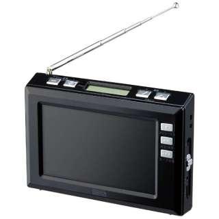 TV03BK 携帯ラジオ ブラック [テレビ/AM/FM]