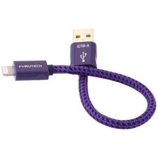 オーディオグレードLightningケーブル/USB Atype GT8A0.18M