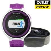 【アウトレット品】 GPSアウトドアウオッチ(日本正規版) ForeAthlete220Jセット(ハートレートセンサー同梱) 114767 White/Violet 【生産完了品】