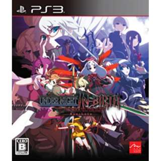 UNDER NIGHT IN-BIRTH Exe:Late【PS3ゲームソフト】