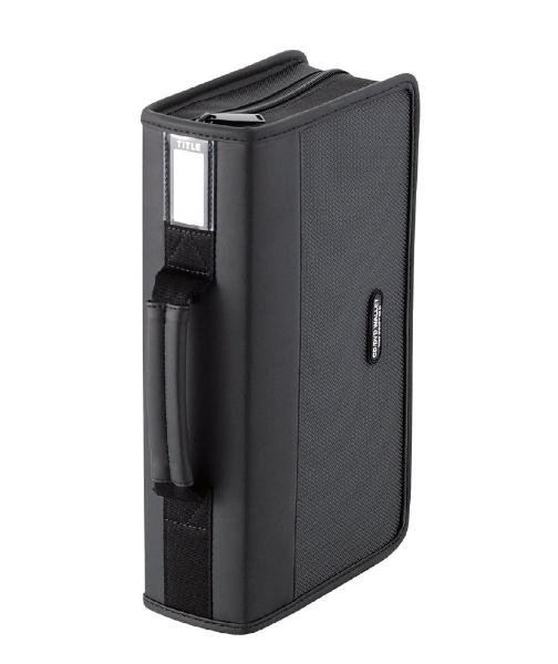 エレコム CD DVDケース ファスナー付 96枚 黒 CCD-SS96BK ELECOM