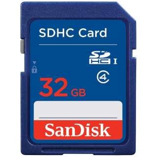 SDHCカード スタンダードシリーズ SDSDB-032G-J35U [32GB /Class4]