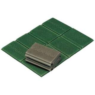 コンパクト折りたたみマット ダークグリーン EBY462