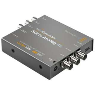 [SDI 入力-出力 Analog] コンバーター Mini Converter SDI to Analog 4K CONVMASA4K