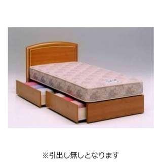 【フレームのみ】フランスベッド 収納なし ラルフ04F(シングルサイズ/ペールチェリー)【日本製】