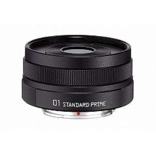 カメラレンズ 8.5mm F1.9 「01 STANDARD PRIME」【ペンタックスQマウント】(グレイニーブラック)