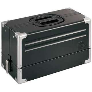 ツールケース(メタル) V形3段式 マットブラック BX331BK