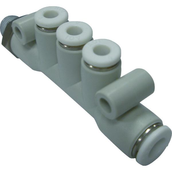 CKD シーケーディー CKD ニュージョイントステンレスタイプ マニホールドR付 ZW-MF68-8-P4 1個 441-1498