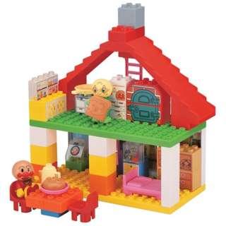 ブロックラボ ハウスシリーズ おおきなパン工場とすてきなおうちブロックバケツ