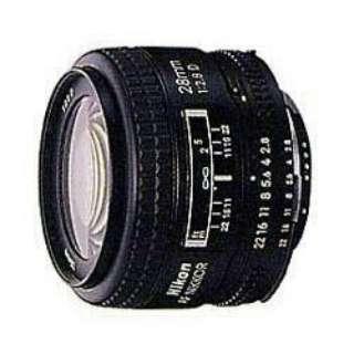カメラレンズ AI AF Nikkor 28mm f/2.8D NIKKOR(ニッコール) ブラック [ニコンF /単焦点レンズ]