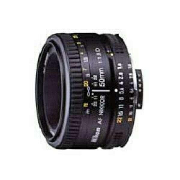 カメラレンズ AI AF Nikkor 50mm f/1.8D NIKKOR(ニッコール) ブラック [ニコンF /単焦点レンズ]