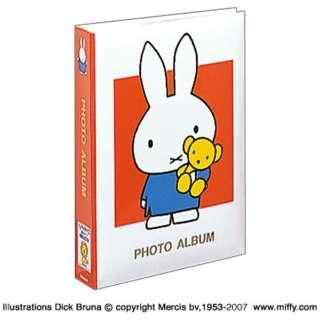 ディック・ブルーナ 「ミッフィー」 1PLポケットアルバム(Lサイズ3段300枚収納/レッド) 1PL-158-R