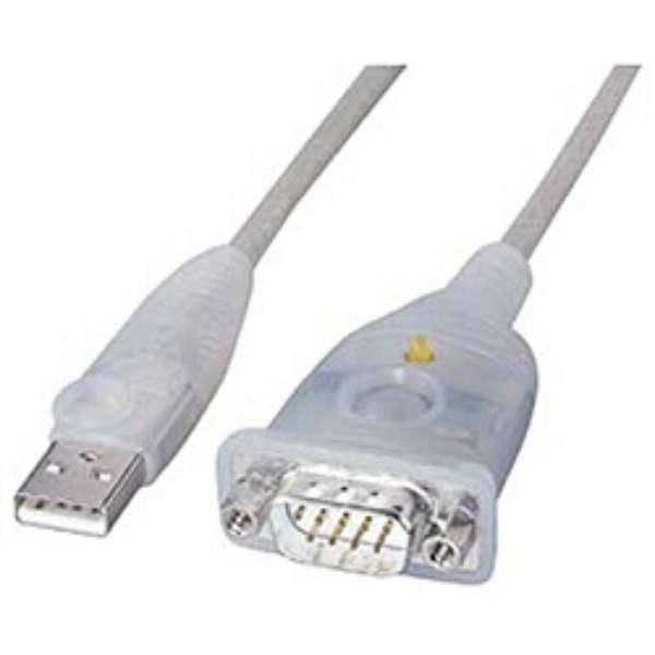 0.3m[USB-A ⇔ D-sub9ピン]ケーブル USB-CVRS9