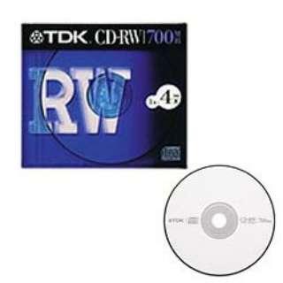 CD-RW80S データ用CD-RW [1枚 /700MB /インクジェットプリンター対応]