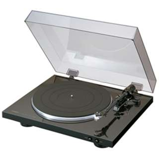 レコードプレーヤー(ブラック) DP-300F [フォノイコライザー内蔵]