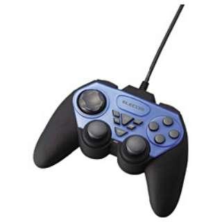 JC-U2312FBU ゲームパッド ブルー [USB /12ボタン]