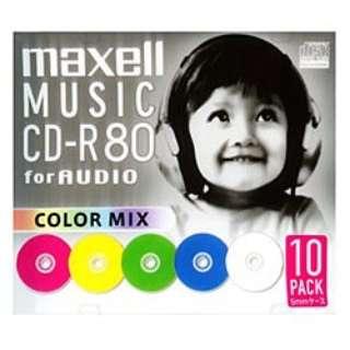 CDRA80MIXS1P10S 音楽用CD-R [10枚]