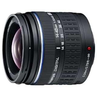 カメラレンズ ED 14-42mm F3.5-5.6 ZUIKO DIGITAL(ズイコーデジタル) ブラック [フォーサーズ /ズームレンズ]