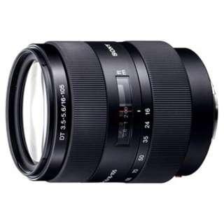 カメラレンズ DT 16-105mm F3.5-5.6  APS-C用 ブラック SAL16105 [ソニーA(α) /ズームレンズ]