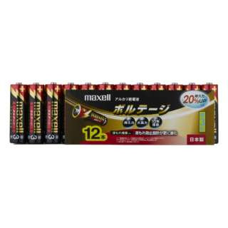 LR6-T-12P 単3電池 VOLTAGE(ボルテージ) [12本 /アルカリ]
