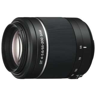カメラレンズ DT 55-200mm F4-5.6 SAM  APS-C用 ブラック SAL55200-2 [ソニーA(α) /ズームレンズ]