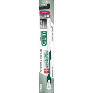 G・U・M(ガム) 歯ブラシ アドバンスデンタルブラシ #388 3列コンパクトヘッド ふつう