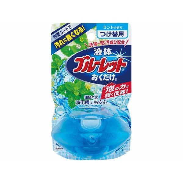 液体ブルーレットおくだけ ミントの香り つけかえ用 70ml 製品画像
