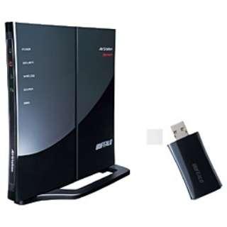 無線LANルータ(n/g/b対応・USB親子セット)WHR-G301N/U