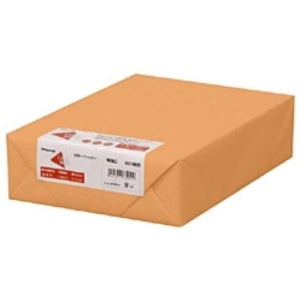 カラーペーパー 特厚口 オレンジ (B4サイズ・500枚) ナ-2468